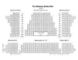 Sidekick Theatre Seating Chart