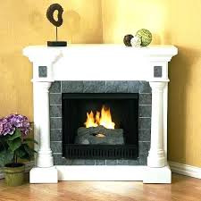 corner gas fireplaces white fireplace electric