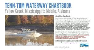Waterway Navigation Chartbook Tenn Tom Tombigbee Waterway