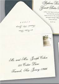Response Card Envelope First Impressions Count A Well Addressed Wedding