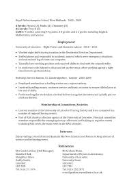 Letter Resume Source New Letter Resume Free Sample