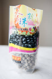 cooked tapioca pearls