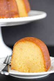 this rum cake is made completely from scratch has the most tender moist crumb