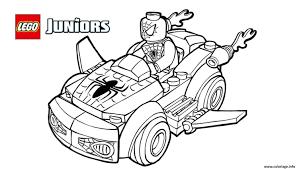 Coloriage Lego Spiderman 2 Voiture Lego Dessin Lint Rieur