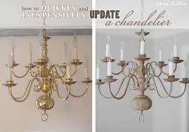 dear lillie making over a chandelier with chalk paint regarding spray decor 2