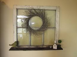 a chic wreath decoration old house windows