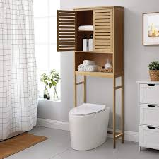 the toilet storage cabinet