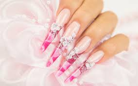 Professional Nail Designs Pictures Acrylic Nails Services Violet Nails Design Professional
