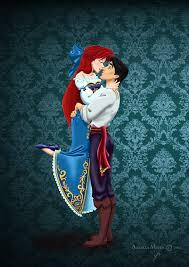 Small Picture Ariel And Eric Fan Art Walt Disney Fan Art Princess Ariel Prince