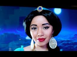 ranker video v princess jasmine look