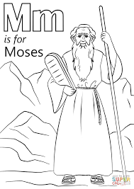 Small Picture Lovely Moses Coloring Pages 59 About Remodel Coloring for Kids