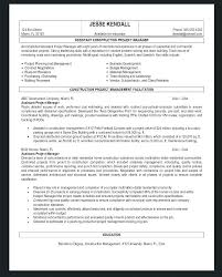 Examples Of Project Management Resumes Project Manager Resume ...