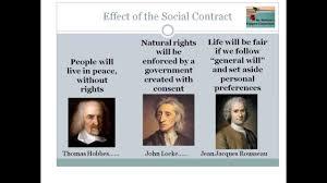 Hobbes And Locke Venn Diagram Social Contract Theories