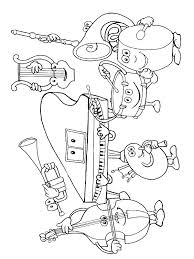Free Printable Coloring Pages Of Musical Instruments Color Bros