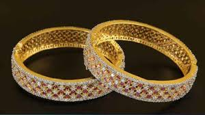 Diamond Bangles Designs Images Gorgeous Diamond Bangles Designs 2019 Indian Jewellery