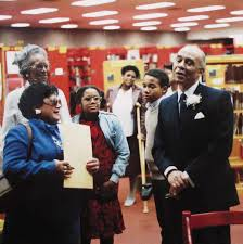 in the territory a look at the life of ralph ellison this land ralph ellison s the ralph ellison library in oklahoma city during the dedication ceremony in 1975