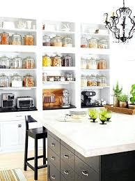 open kitchen shelves decorating ideas charming open kitchen shelves aluminium
