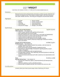6+ Customer Service Representative Resume | Memo Heading