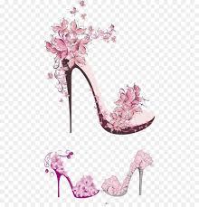 high heeled footwear wall decal shoe bathroom gordijn watercolor high heels