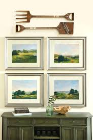 above window decor 4 ways to hang art a console how decorate different  looks with wall