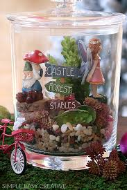 mason jar gifts the step by step process is really easy and fun the kids will love to help put these miniature fairy gardens together too
