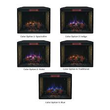 spectrafire electric fireplace classic flame