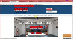 garage door repair sacramentoHow to beat Sacs Garage Door Repair SEO for Sacramento Garage
