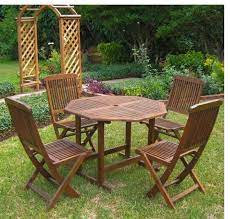 dining table set for 4 wood patio table