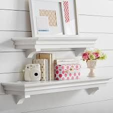 white decorative shelf floating cube shelves wall mount with within ideas 8