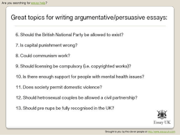 steps to writing argumentative essay topics politics there is nothing like a controversial topic to get the blood flowing through your these examples of argumentative essays are to