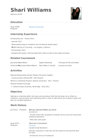 Beauty Advisor/Make Up Artist Resume samples