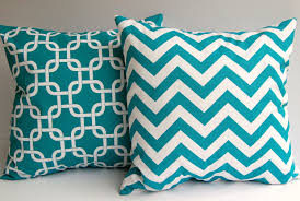 turquoise decorative pillows. Interesting Pillows Turquoise Throw Pillow Covers Set Of Two 18 X By ThePillowPeople Intended Decorative Pillows A