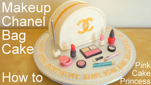 chanel bag makeup cake for mother s day how to by pink cake princess you
