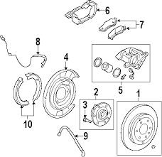 parts com® chevrolet traverse brake components oem parts 2009 chevrolet traverse lt v6 3 6 liter gas brake components