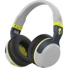 skullcandy hesh wireless bluetooth headphones shbgy b h skullcandy hesh 2 wireless bluetooth headphones gray hot lime