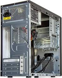 <b>Корпус Foxline FL</b>-<b>628</b>, черный, mATX, 500W (<b>FL</b>-<b>628</b>-FL500S-U32 ...