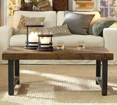 image of pottery barn coffee table