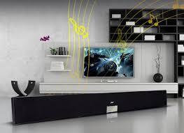 sound system for tv. 5.1 wireless soundbar for tv hd stereo 40w with led remote control cine box home sound system v