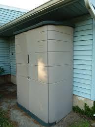 plastic outdoor storage cabinet. Interesting Plastic Latest Rubbermaid Outdoor Storage Cabinet With Appealing  Sheds Inside Plastic E