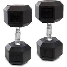 Rubber Coated Hex Dumbbell Set With Rack Interesting CAP Barbell RubberCoated Hex Dumbbells Set Of 32 Hex Dumbbell Set