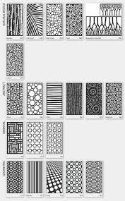 Lasercut metal screens for pergolas, fences or doors