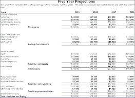 Template For Statement Of Cash Flows Pro Forma Cash Flow Template