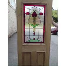 stained glass door designs window sgo designer glass sd001 original art nouveau stained glass exterior interior door