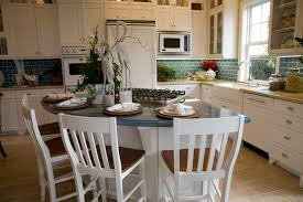 Open Kitchen Layout Open Kitchen Layout Design Ideas In Modern Home With White Round