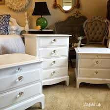 hand painted white bedroom furniture. white painted furniture: before and after photos hand bedroom furniture