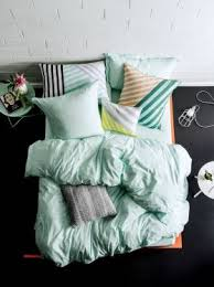 Buy Modern Quilt Cover Sets Online Australia & Elka Mist Quilt Cover Set Adamdwight.com