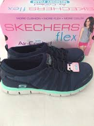 skechers air cooled. skechers flex air cooled memory foam women\u0027s 9 blue shoes shake it off | what\u0027s worth