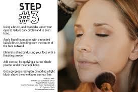 holiday makeup tutorial and nice step 3 contouring
