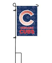 love this product chicago cubs glitter garden flag