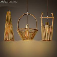 basket pendant light. LFH Chinese Style Hand Made Bamboo Pendant Lamp Bucket/basket Lights For Living Room Basket Light N
